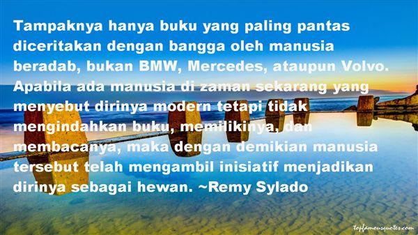 Remy Sylado Quotes