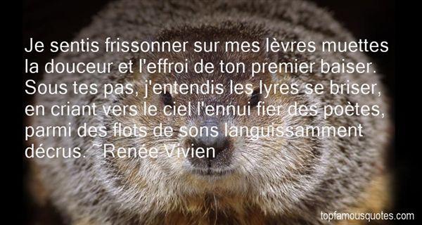 Renée Vivien Quotes