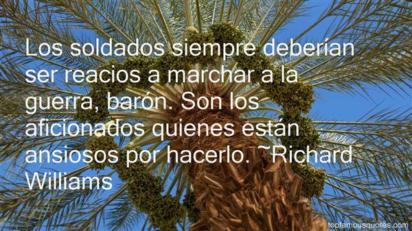 Richard Williams Quotes