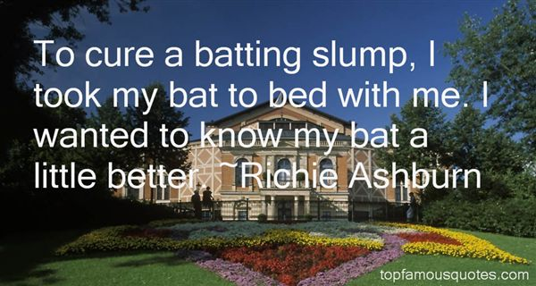 Richie Ashburn Quotes