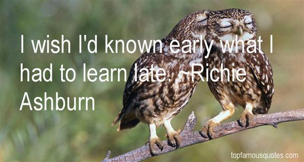 Richie Ashburn Quotes