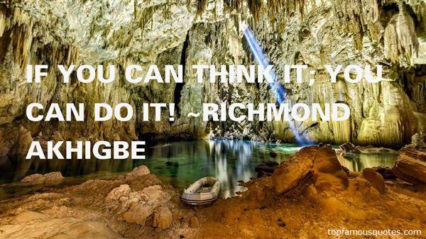 Richmond Akhigbe Quotes