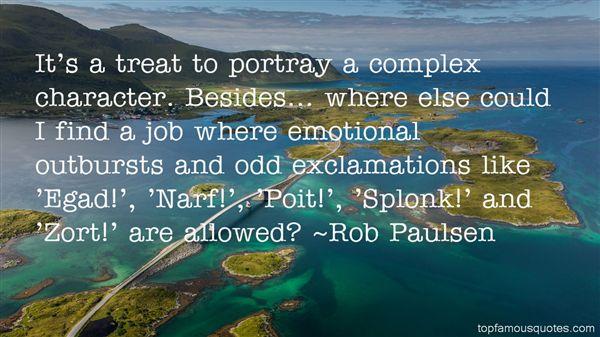 Rob Paulsen Quotes