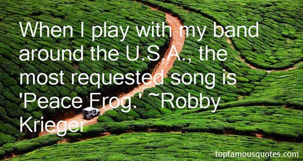Robby Krieger Quotes