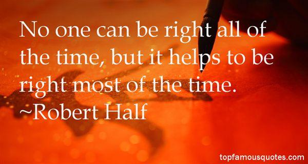 Robert Half Quotes