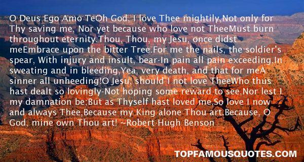 Robert Hugh Benson Quotes