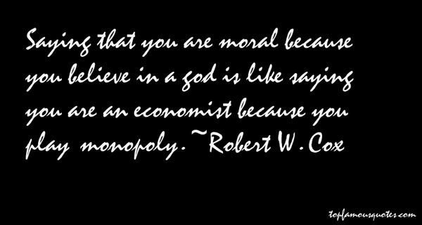 Robert W. Cox Quotes