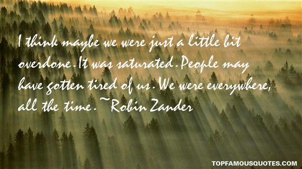 Robin Zander Quotes
