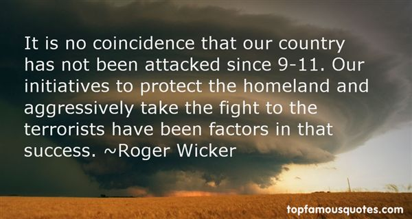 Roger Wicker Quotes