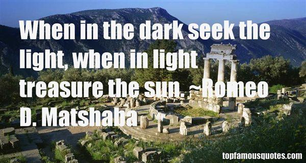 Romeo D. Matshaba Quotes
