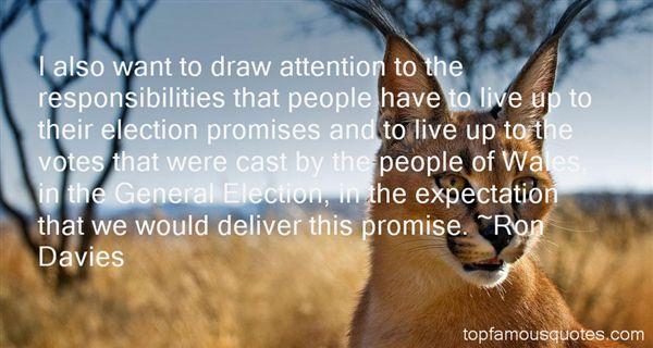 Ron Davies Quotes