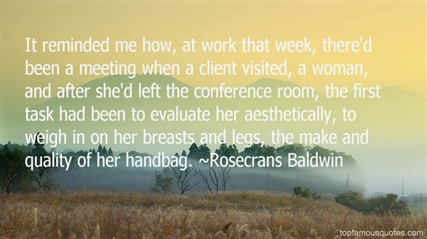 Rosecrans Baldwin Quotes