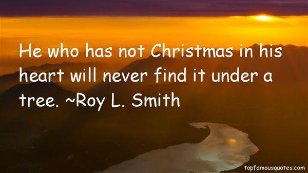 Roy L. Smith Quotes