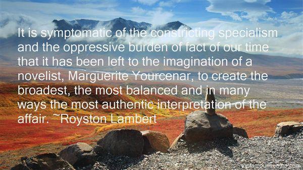 Royston Lambert Quotes