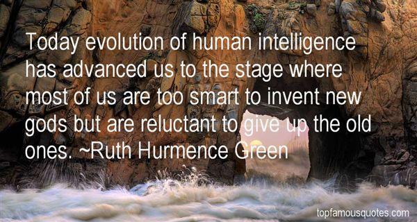 Ruth Hurmence Green Quotes