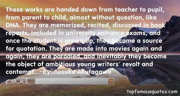 Ryūnosuke Akutagawa Quotes