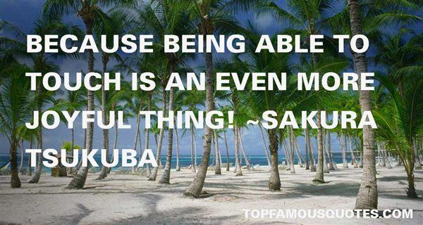 Sakura Tsukuba Quotes
