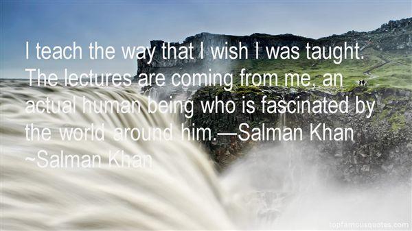 Salman Khan Quotes