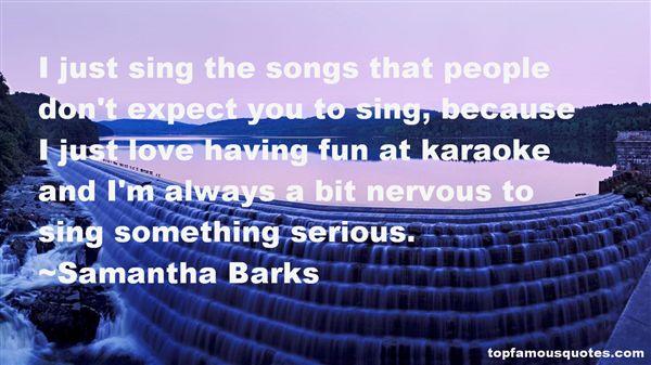 Samantha Barks Quotes
