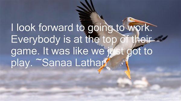 Sanaa Lathan Quotes