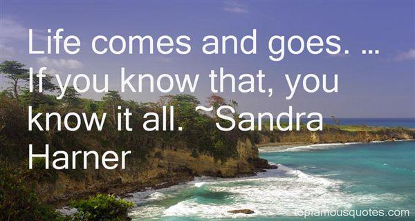 Sandra Harner Quotes