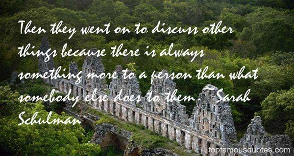 Sarah Schulman Quotes