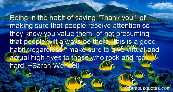 Sarah Wendell Quotes