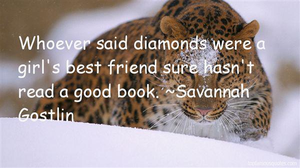 Savannah Gostlin Quotes