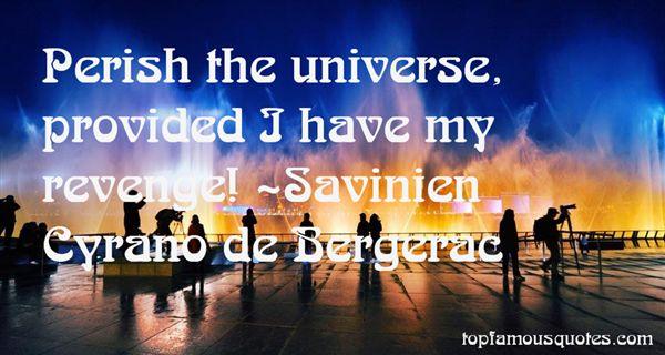 Savinien Cyrano De Bergerac Quotes