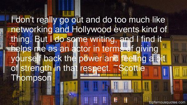 Scottie Thompson Quotes