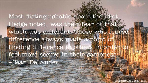 Sean DeLauder Quotes
