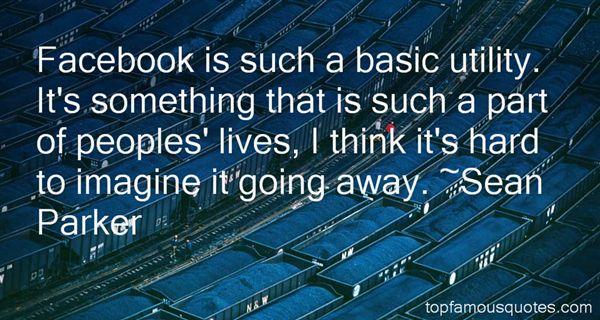 Sean Parker Quotes