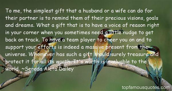 Sereda Aleta Dailey Quotes