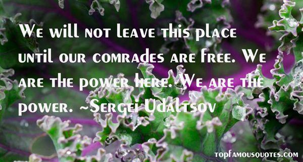 Sergei Udaltsov Quotes
