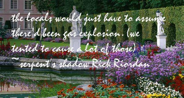 Serpent's Shadow Rick Riordan Quotes