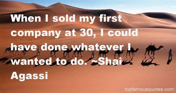 Shai Agassi Quotes