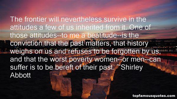 Shirley Abbott Quotes