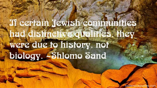 Shlomo Sand Quotes