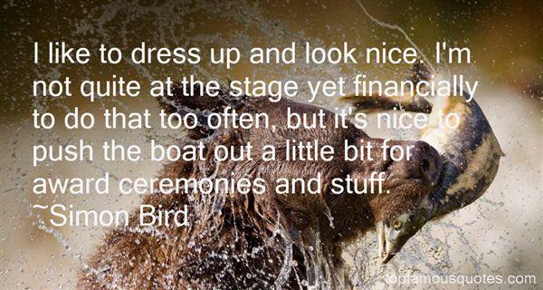 Simon Bird Quotes