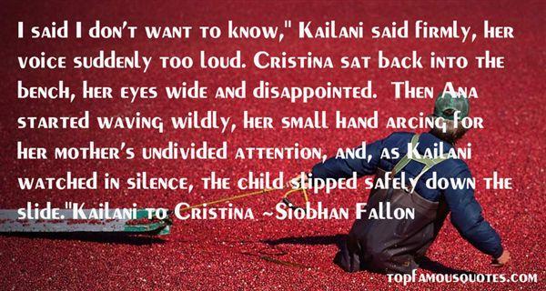 Siobhan Fallon Quotes