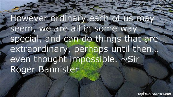 Sir Roger Bannister Quotes