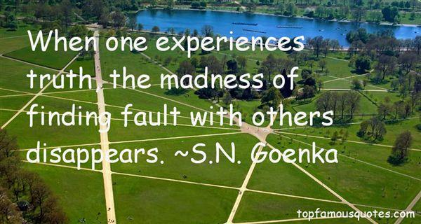 S.N. Goenka Quotes