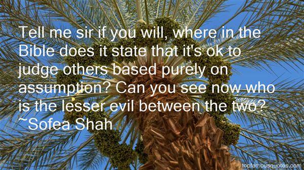 Sofea Shah Quotes