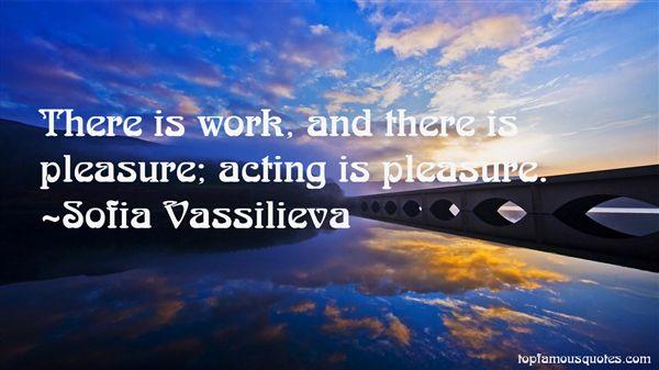 Sofia Vassilieva Quotes