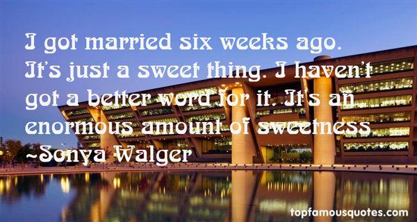 Sonya Walger Quotes