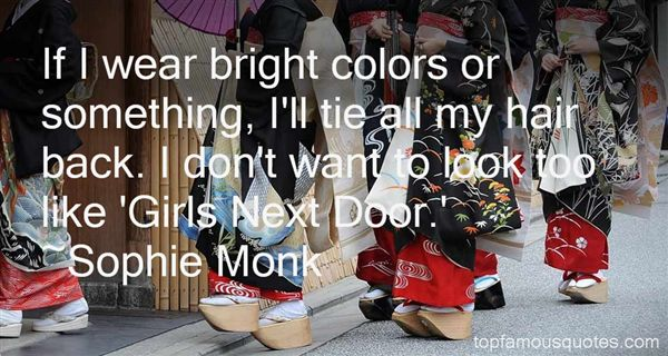 Sophie Monk Quotes