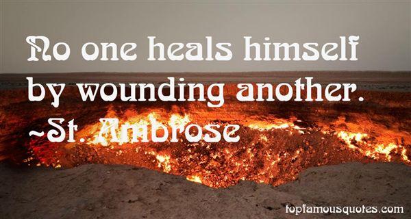St. Ambrose Quotes