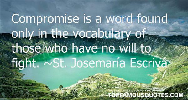 St. Josemaría Escrivá Quotes