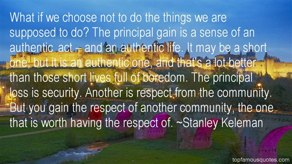 Stanley Keleman Quotes
