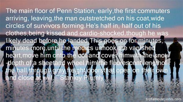 Stanley Plumly Quotes